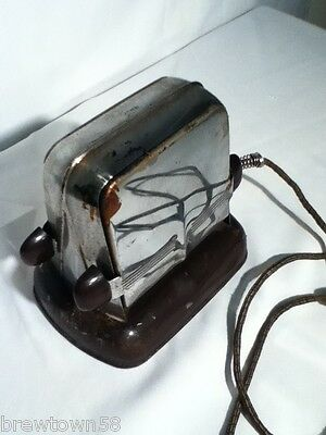 Lady Dover antique vintage metal toaster old collectible decorating kitchen T1