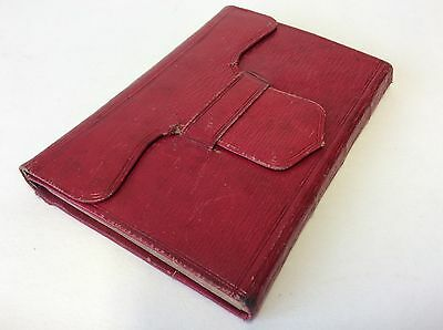 antique leather bound diary 1826