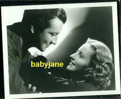 Barbara Stanwyck Robert Taylor Vintage 8X10 Photo By Ted Allan At Mgm Double Wgt