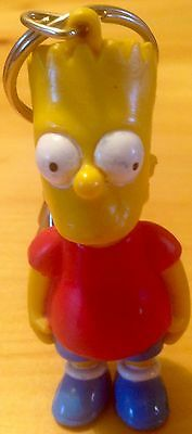 The Simpsons Vintage 1990 Bart Simpson Key Chain