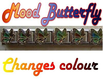 9mm  Italian Charm MB  Mood Butterfly Changes Colour