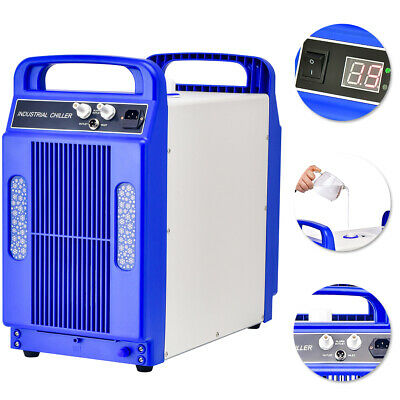 110V Thermolysis Industrial Water Chiller for 60 / 80W CO2 Glass Tube CW-3000DG