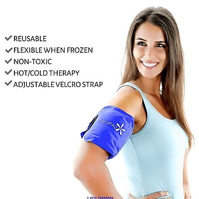 Health Care Therapy Wrap Pad Pain Relief Ice Pack  Strap for Hot Cold Neck Calve