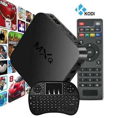 MXQ S805 Android Smart TV Box Quad Core 1G+8G WIFI HD 1080P i8+ Remote Keyboard