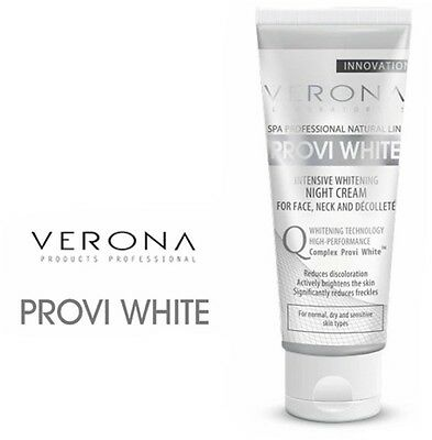VERONA PROVI WHITE INTENSIVELY WHITENING NIGHT FACE CREAM dark spot pigmentation