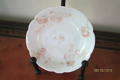 """Antique Limoges Floral w Stems  Small Dish (s) 5.5/8""""marked Haviland-France, EC."""