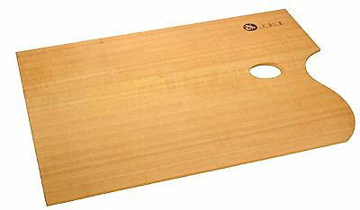 Jakar Artist Wooden Palette Oval Or Rectangular Walnut Oiled For Oil Acrylic
