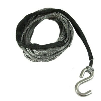 4mm X 6m Dyneema SK75 Winch Rope S Hook - Spectra Boat Marine Cable Webbing