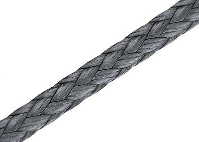 8mm Dyneema Winch Rope Per Metre - SK75 Spectra Cable Webbing Synthetic UHMWPE