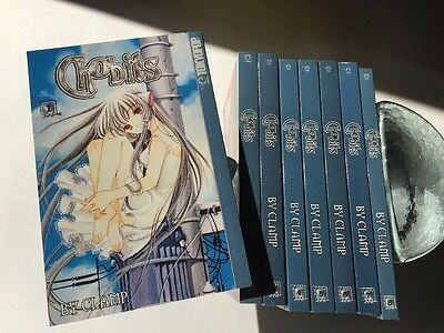 Chobits anime comics 1-8 complete set CLAMP English manga comic 1st Printings