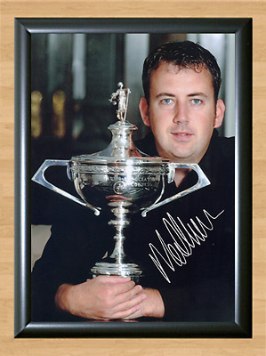 Mark williams Snooker Sport Signed Autographed A4 Poster Photo Print Memorabilia