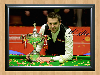 Mark Selby Snooker Sports Signed Autographed A4 Poster Photo Print Memorabilia 2