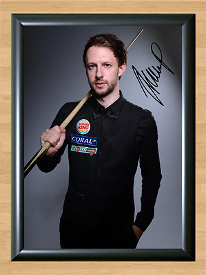 Judd Trump Snooker Sports Signed Autographed A4 Poster Photo Print Memorabilia 1