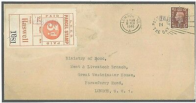 DBR156a 1940 Haswell Durham LNER Stamped Rly/London