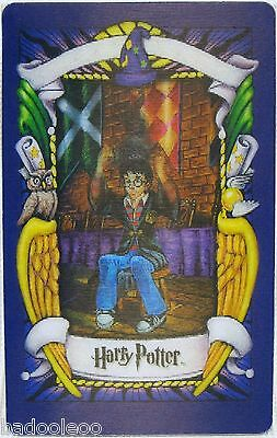 Harry Potter 3D Motion Collector Card 2001 - The Sorting Hat - Chocolate Frog