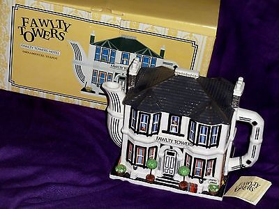 Fawlty Towers Hotel  Teapot boxed   excellent condition