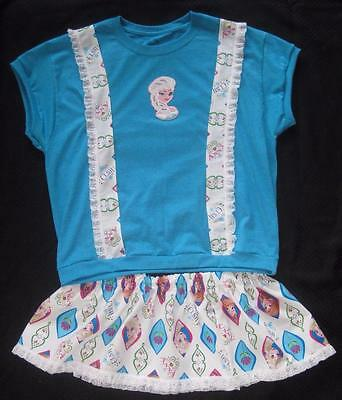 """Adult Baby 42"""" ELSA Frozen Top & Sissy Skirt,  by LL"""