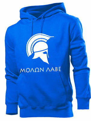 MOLON LABE Griechenland Sweatshirt Kapuzenpulli Hooded Hellas ???O? ???? Greece