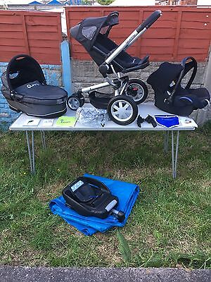 Quinny Buzz 3in1 Complete Travel System in Rocking Black