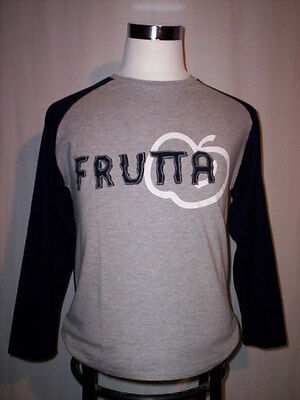 Jersey shirt t-shirt Frutta boy man crew-neck long sleeve cotton Ml