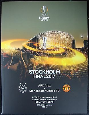 UEFA EUROPA LEAGUE  FINAL 2017 Manchester United v Ajax @ Stockholm