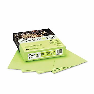 Boise Fireworx 20 lb Colored Paper  Letter 500 ct   Garden Springs Green