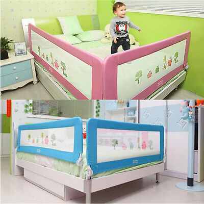 150 & 180cm Toddler infant Bed Rail Safety Protection Guard for Child Folding