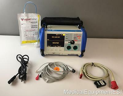 ZOLL M Series 3 Lead ECG AED Pacing Analyze Xtreme Case