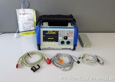 ZOLL M Series 3 Lead ECG SpO2 AED Analyze Pacing Xtreme Case