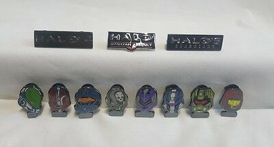 SDCC Comic Con 2013 Exclusive HALO / Halo 4 / HALO 5 collectible Pin-Back Button