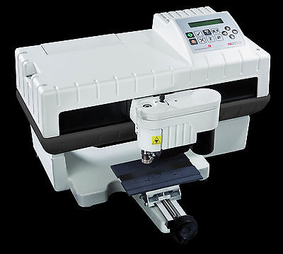 Hermes Gravograph Engraving Machine IS200 + PC + Monitor + Gravostyle software