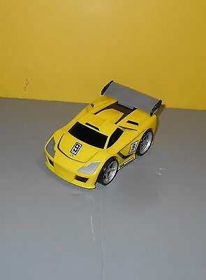 2005 Fisher Price Shake N Go Yellow Exotic Sports Car Toyo Tires Toy #G5788