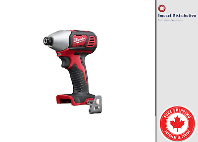 "New MIilwaukee M18 1/4"" HEX Impact Driver 18V LITHIUM-ION 2656-20"