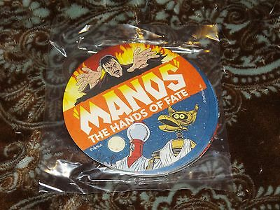 Lot of 5 (Five) Double-Sided Mystery Science Theater 3000 Coasters HTF MST3K Set