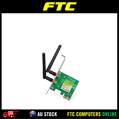 TP-Link TL-WN881ND 300Mbps Wireless N PCI Express Adapter,Atheros, 2T2R