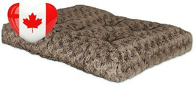 Midwest Quiet Time 21 By 12 Inch Ombré Swirl Deluxe Pet Bed