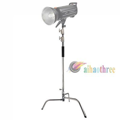 Heavy Duty Aluminum alloy Light Stand C Stand For Photography Studio Flash Light