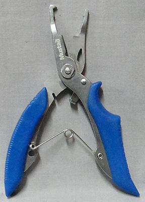 Mustad MT29 Braid Cutter and Split Ring Plier  *New*