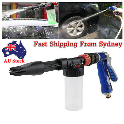 AU Water Car Wash Foam Spray Gun Cleaning Hose Pipe Lance 100ML High Pressure