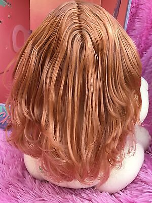 No Box! Highly Sought After Comb Red Hair ~ Green Eyes Ponytail FULLY DRESSED