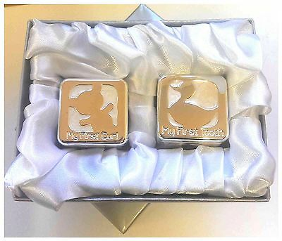 My First Tooth and Curl Box Set Of 2 Hair Lanugo Milk Tooth Save Cabinet Gift