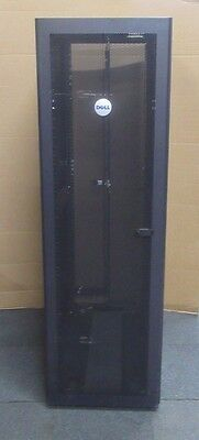 Dell PowerEdge 4210 42U Server Rack Cabinet Enclosure MT020 Doors + Sides