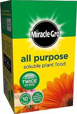 Miracle Grow All Purpose Soluble Plant Food Carton 2 kg Grows Plants Twice
