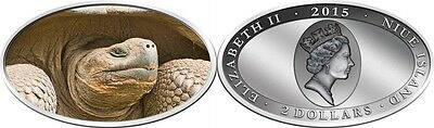 Niue TOUCH THE BEAST LONESOME GEORGE 2 $ 2015 XL-high relief colored silver 1oz