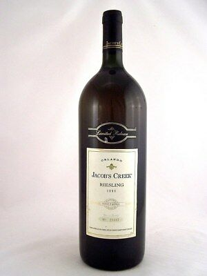 1996 ORLANDO Jacob's Creek Limited Release Riesling MAGNUM Isle of Wine