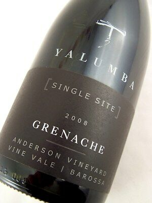 2008 YALUMBA Grenache (Single Site) Barossa Valley Isle of Wine