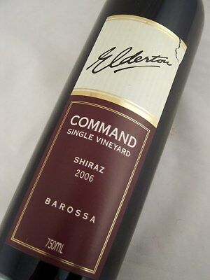 2006 ELDERTON 'COMMAND' Barossa Shiraz Isle of Wine