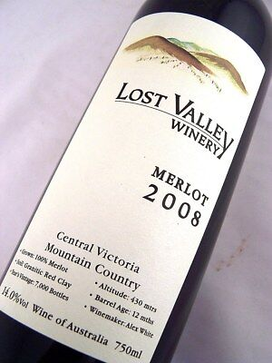 2008 LOST VALLEY Winery Merlot Isle of Wine