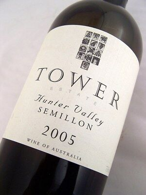 2005 TOWER ESTATE Hunter Valley Semillon Isle of Wine