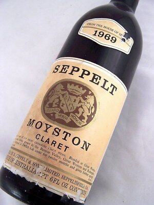 1969 SEPPELT Moyston Claret Red Blend A Isle of Wine
